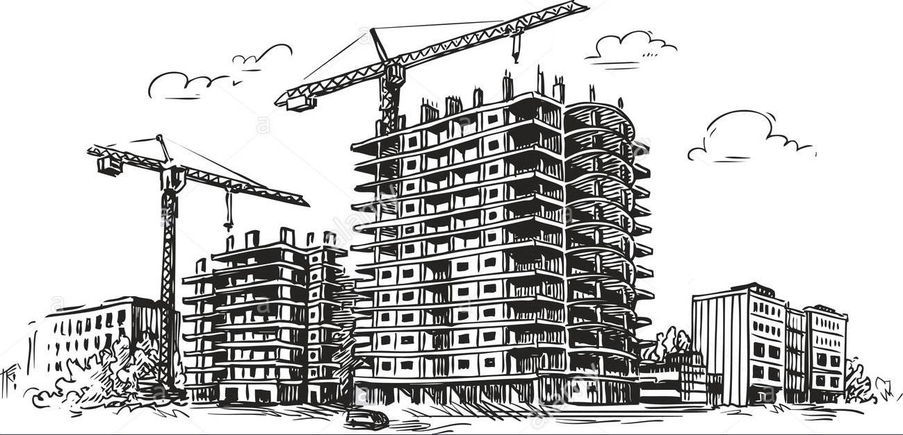 Рисунки строительство дома